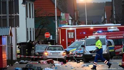 Alemania: hombre que atropelló a una multitud en desfile de carnaval dejó 52 heridos, 18 de ellos niños