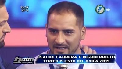 Desempleado, Naldy pide auxilio en redes