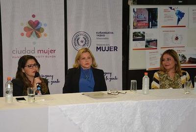 Casas de Justicia se incorpora a Ciudad Mujer Móvil