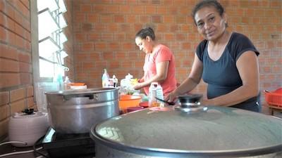 Solicitan equipamientos y mobiliarios para cocina comedor de la Escuelita Urunde'y