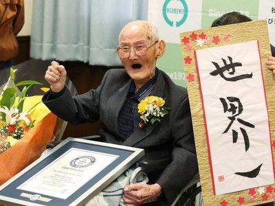 Muere el hombre más viejo del mundo a los 112 años
