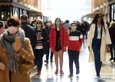 La prima italiana sube a 152 puntos y la bolsa cae un 1% por el coronavirus
