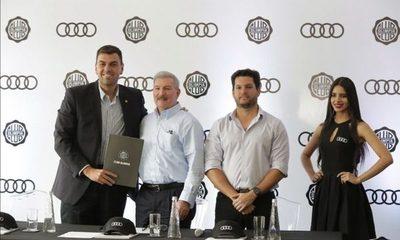 Audi es el nuevo sponsor del club Olimpia