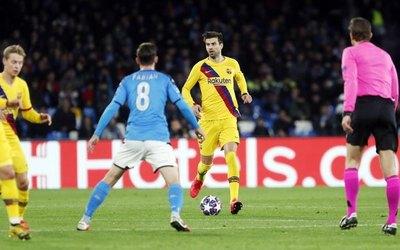 Barcelona consigue un empate ante el Napoli