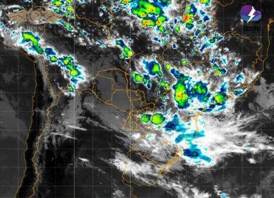 Alerta de tormentas vigente para 5 departamentos