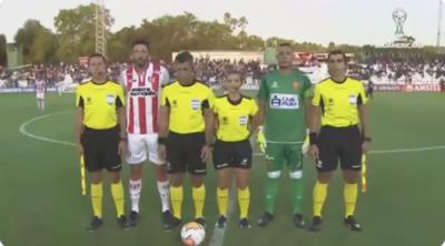Zulma Quiñónez hace historia y es la primera mujer en arbitrar en Copa