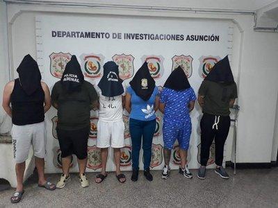 Capturan a seis extranjeros sospechosos de hurtos domiciliarios