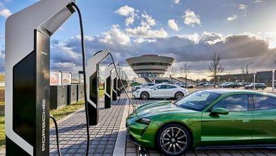 Porsche tiene la planta de carga eléctrica más potente de Europa