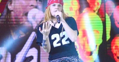 """Axl Rose paraguayo"" en programa chileno"