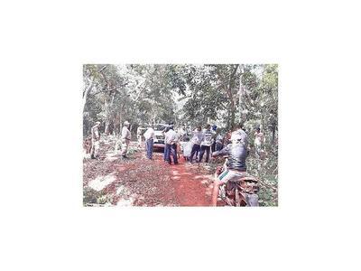 Invasión y tala en reserva natural de Itaipú Binacional