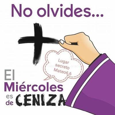 Horarios de imposición de cenizas en San Lorenzo y la Diócesis
