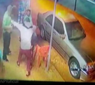 Un herido de bala durante robo a una despensa en Luque