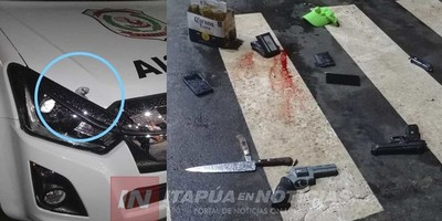 TRAS VIOLENTO ASALTO, APREHENDEN A PRESUNTOS CRIMINALES EN EL B° SAN PEDRO