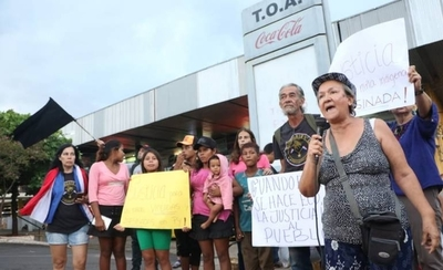 HOY / Exigen justicia para Francisca, la niña asesinada en zona de la terminal