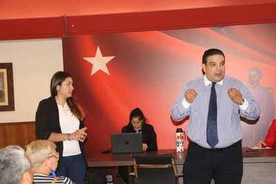 """Director de empleo de la ANR: """"El partido hace el trabajo que muchas instituciones no hacen"""""""