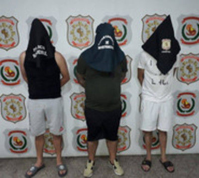 Desbaratan banda de asaltantes integrada por extranjeros