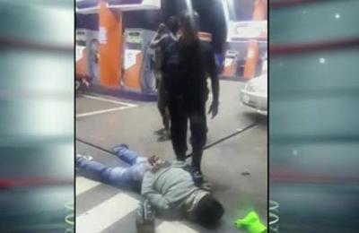 Asalto, enfrentamiento y detención de delincuentes