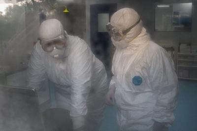 Así es el laboratorio preparado por Salud para hacer frente al coronavirus