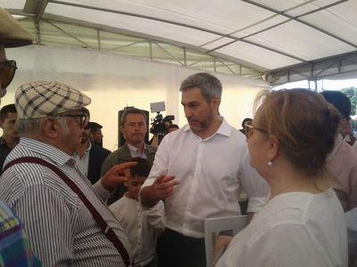 """Mario Abdo Benítez: """"Me pueden retar, pero no me pueden tratar de haragán"""""""