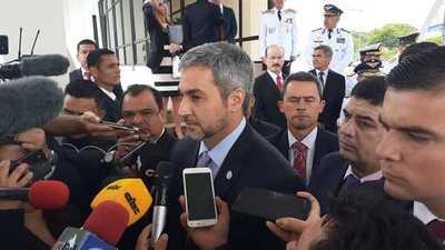 """Abdo """"espera"""" que la justicia actúe contra quienes defraudan al pueblo paraguayo"""