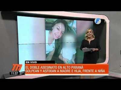 Doble asesinato en Alto Paraná