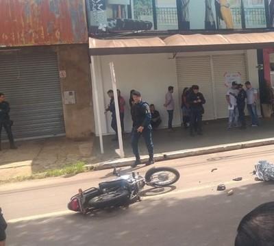 Supuesto motochorro murió tras persecución
