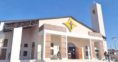 Desapareció el custodio de oro de una iglesia