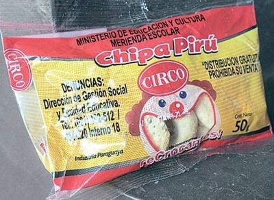 HOY / Chipita piru cumple con exigencias nutricionales, aclara MEC