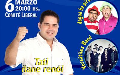 """Tati"" llama a los liberales a un encuentro de confraternidad"