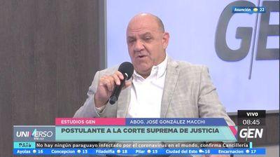 José González Macchi apunta a mejorar temas carcelarios