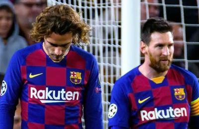 Griezmann dice que le es 'complicado' conectarse con Messi