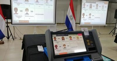 Llegaron las primeras máquinas de votación