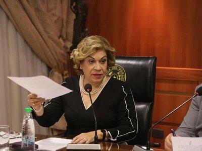 Recusan a ministra Bareiro en caso de declaraciones juradas