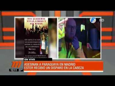 Paraguaya asesinada en Madrid