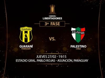 Previa del partido Guaraní vs. Palestino