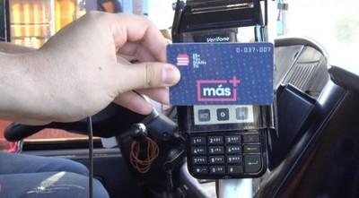 Aclaran que las tarjetas MAS tienen una duración de diez años, como lo establece el reglamento de Transporte