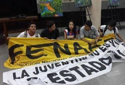 Estudiantes se manifestarán el próximo jueves