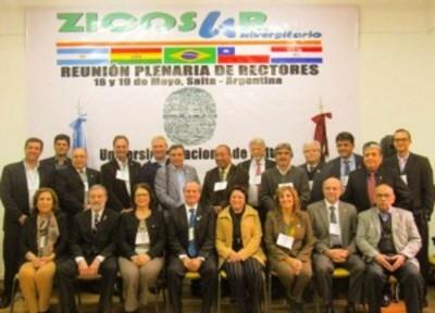 La UNE será sede de la plenaria internacional de rectores de la red ZICOSUR