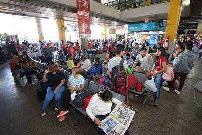 Terminal de Asunción pone en marcha protocolo contra el coronavirus