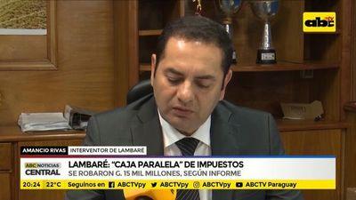 """Lambaré: """"Caja paralela"""" de impuestos"""