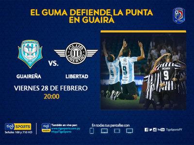 El puntero Libertad se presenta en Villarrica