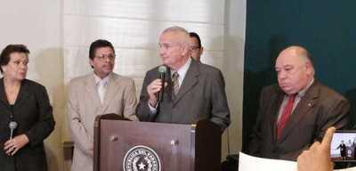 Carlos Altemburger asume como nuevo viceministro de Seguridad Interna
