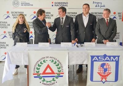 Artemarcialistas de Sudamérica se reúnen en Paraguay