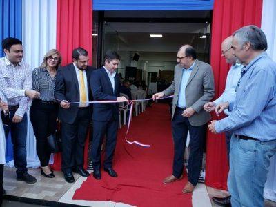 Nueva sucursal del BNF fue inaugurada en San Alberto