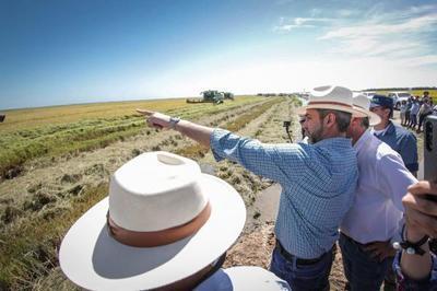 Abdo: Este año habrá récord de producción y el Chaco será un polo de desarrollo