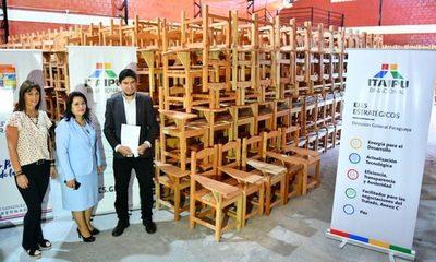 Entregan 1.000 pupitres para instituciones educativas del Alto Paraná