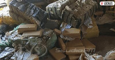 SENAD procede a la quema de unos 300 kg de marihuana en el B° Mboi Ka'e