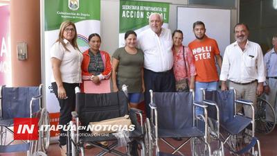 GOBERNACIÓN INVIRTIÓ RECURSOS EN LA COMPRA DE SILLAS DE RUEDA.