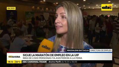 Sigue la maratón de empleo en la UIP