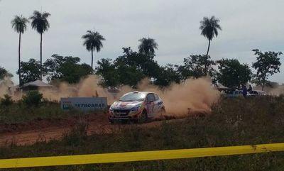 ¡Primera en el Rally de Santaní!